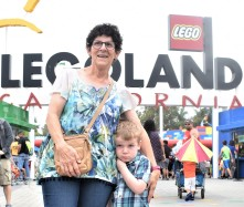 A trip to Legoland with one grouchy nephew.