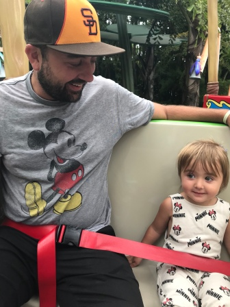 """A """"lame ride"""" that tickled my little Mousketeer!"""